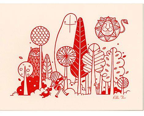 Illustration from Rila Alexander's 'Her Idea.'
