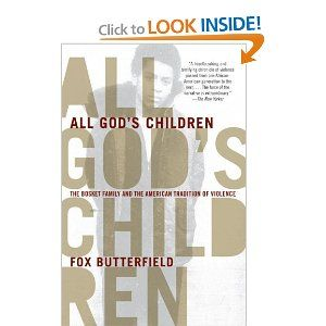 """Fox Butterfield, """"All God's Children"""""""