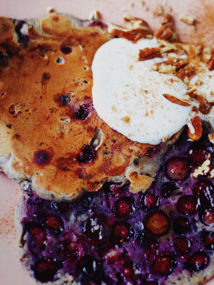Blueberry pancakes jamies superfood page 24 recipes jamie smoothie pancake from jamie olivers everyday superfood recipe book healthy pancake for pancake day shrove tuesday forumfinder Choice Image