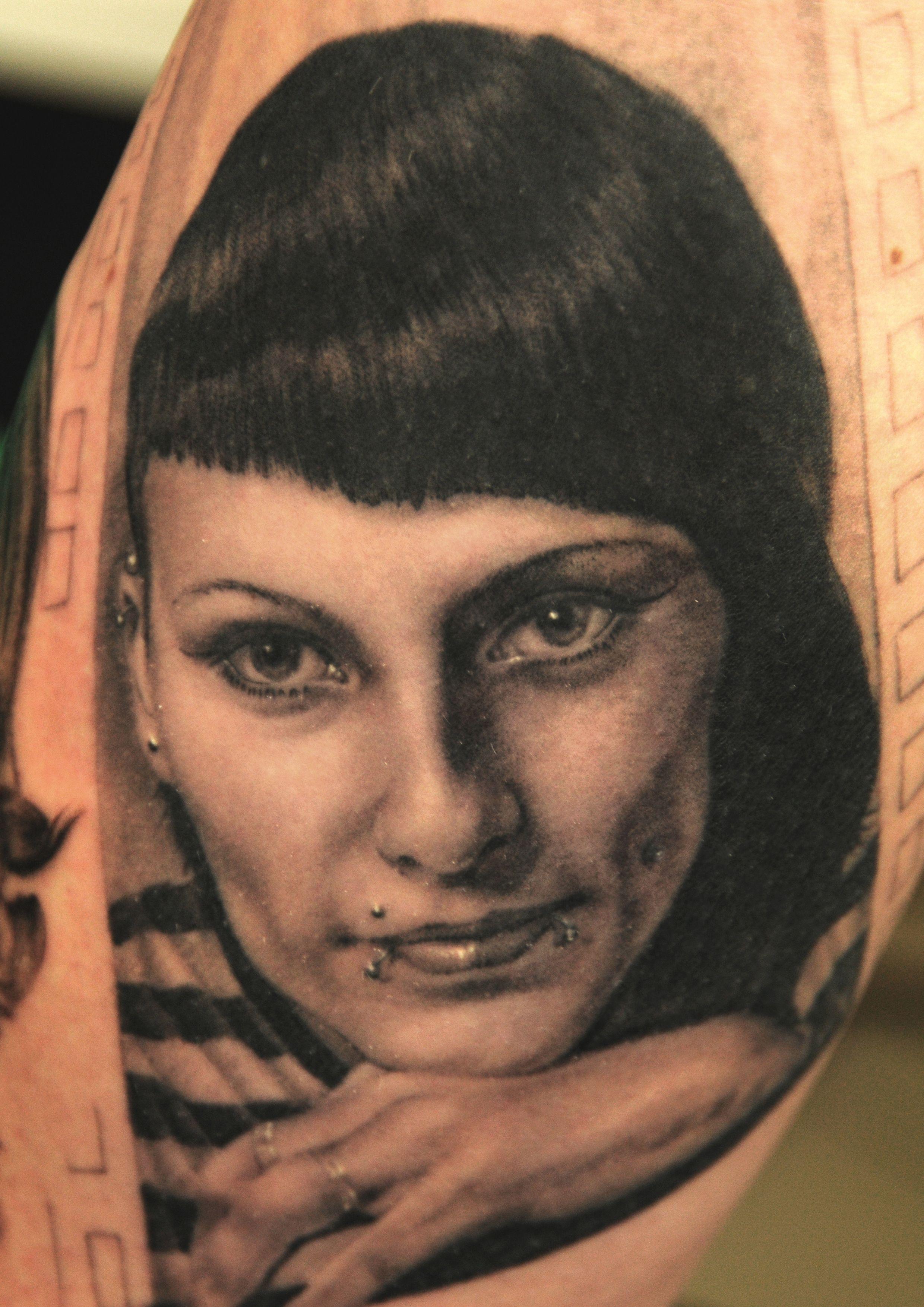 Tattoo Artist Andy Engel Portraits/Tattoos I did of