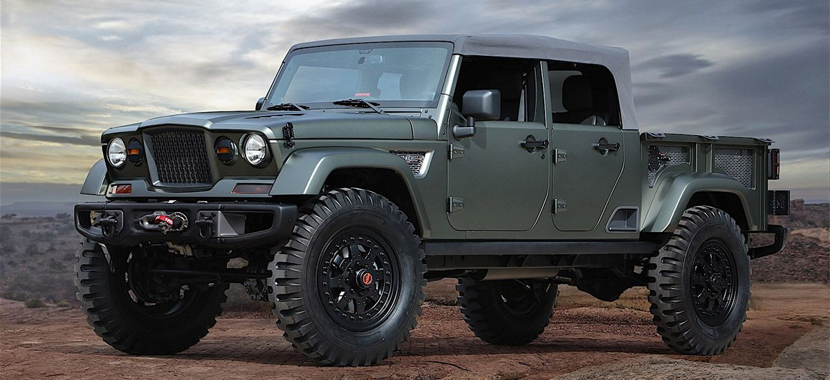 The New Jeep Pickup Truck Is Expected To Debut In 2019 And It S