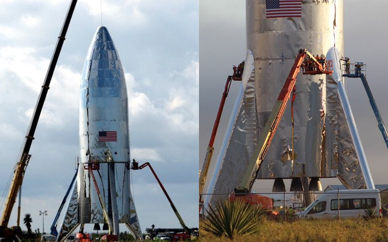 Hopper: Test flight version of SpaceX's Starship vehicle