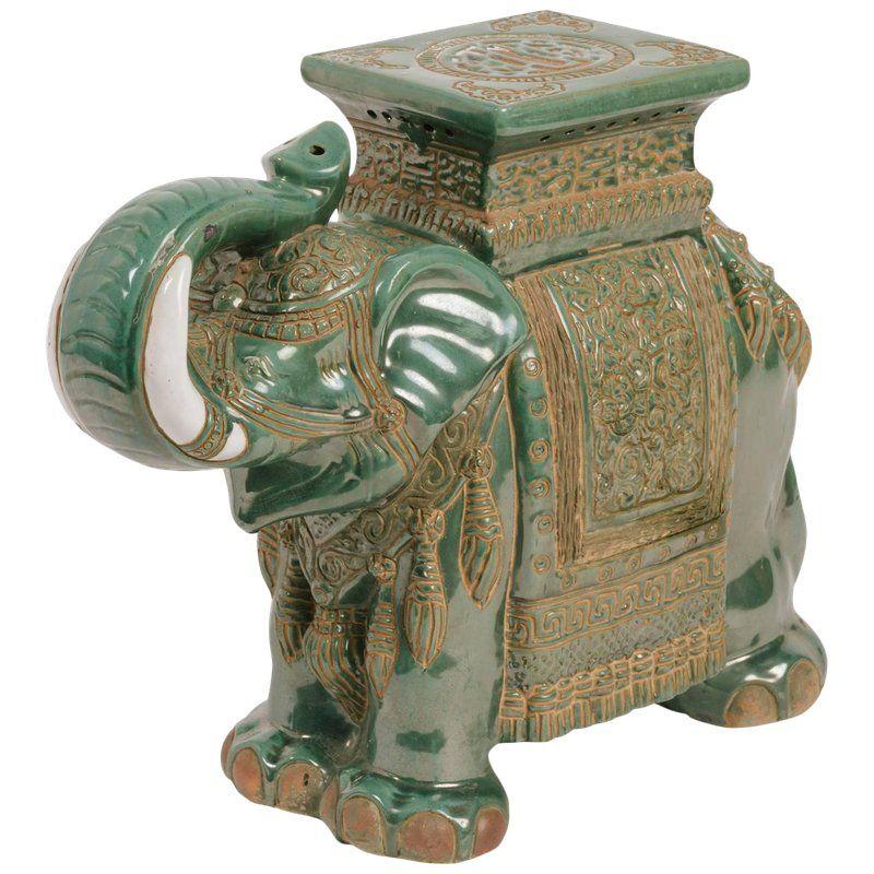 Ceramic elephant side table in 2020 ceramic elephant