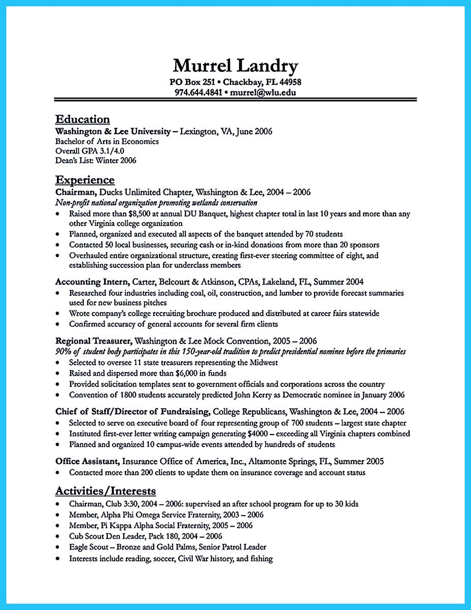 Do You Want To Build The Best Business Consultant Resume Then You Need To Check And Read Some Business Resume Objective Examples Sample Resume Resume Examples