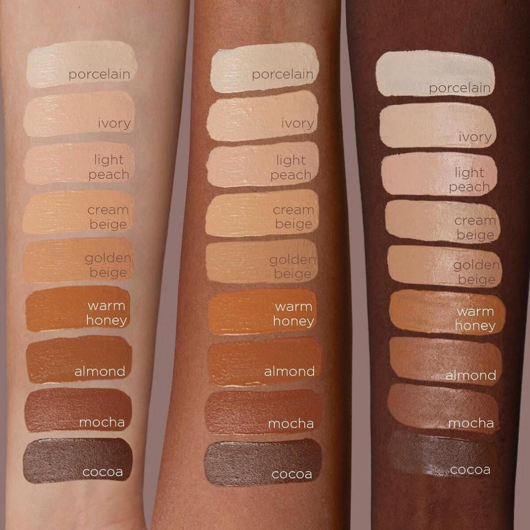Swatches Nabla CloseUp Concealer Correttore, Pennellate