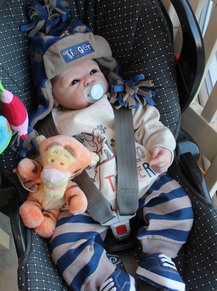 Beautiful Reborn Baby Boy Doll Paris Sam S Reborn