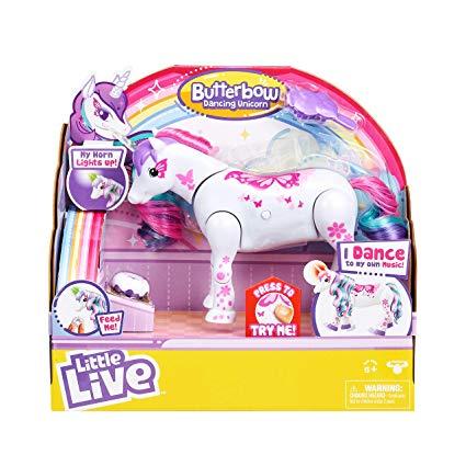 Little Live Pets Unicorn Butterbow Toys