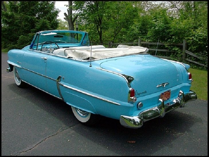 Plymouth Belvedere Blue Convertible Classic Chrysler