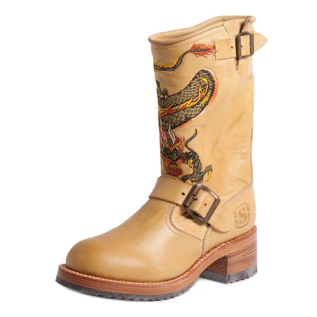 f9b13eec2 17463 Bota Piel Beige  ShopBoots  BotasOnline  botas  boots  Sendra