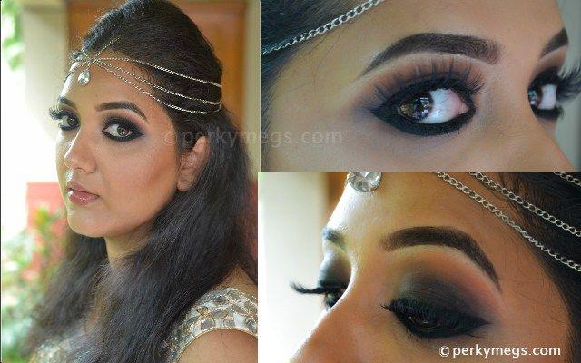 Deepika Padukone inspired black smokey eye makeup tutorial india. Catch up  the step by step