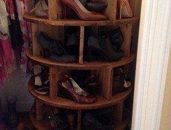 Lazy Susan Shoe Storage Beispiele, #beispiele #storage #susan Check more at http://chaus ...
