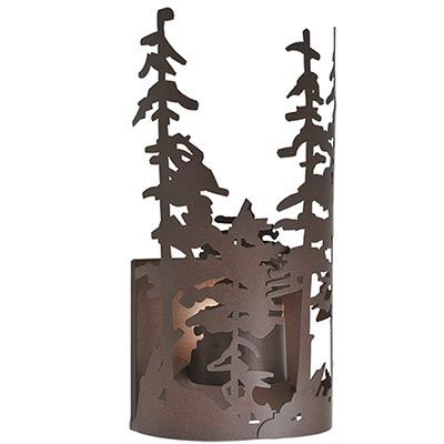 Tall Pines 3D Sconce