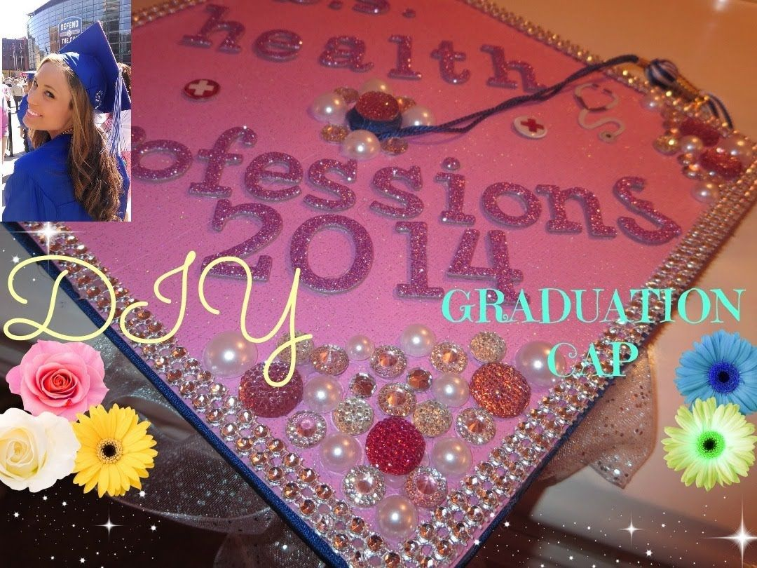 Decorating With Hats How To Decorate A Graduation Cap Tutorial Might Come In Handy