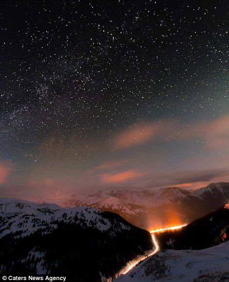 By the light of the silvery moon: Incredible images of Colorado's night skies captured by one of its own residents