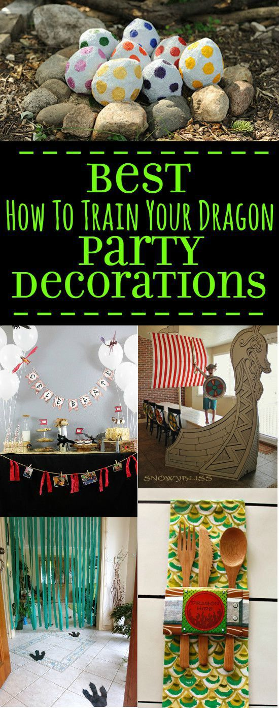 how to train your dragon party supplies