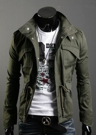 The Military Jacket | Mens military style jacket, Military