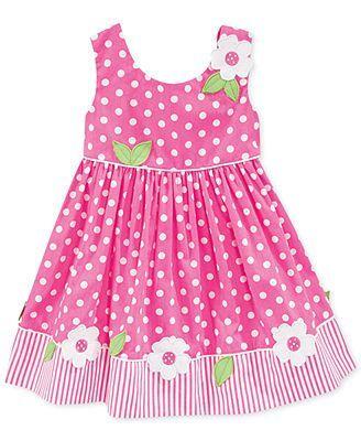 Blueberi Boulevard Baby Girls Polka Dot Dress Baby Blueberi Boulevard Dress Girls Kids Macys Polkad 2020 Cocuk Giyim Sirin Elbiseler Bebek Elbise Modelleri