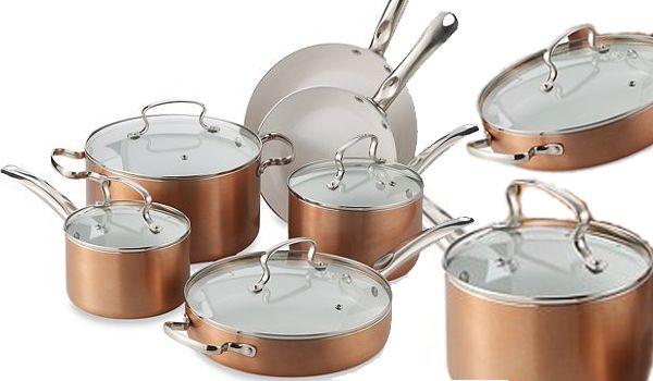 Denmark Tools For Cooks 10 Piece Ceramic Nonstick Aluminum Cookware Set Review Cookware Set Ceramic Cookware Set Ceramic Cookware
