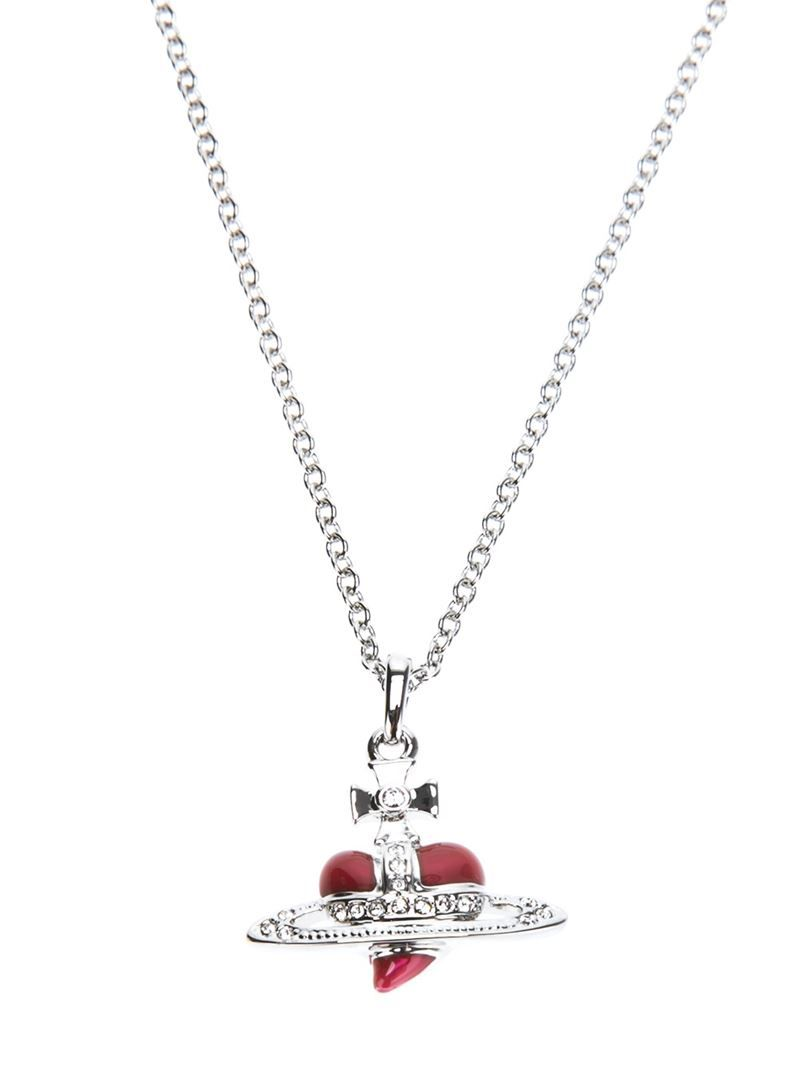 f4f681a72e9f2 VIVIENNE WESTWOOD 'Diamante Heart' pendant - on Vein - getvein.com ...