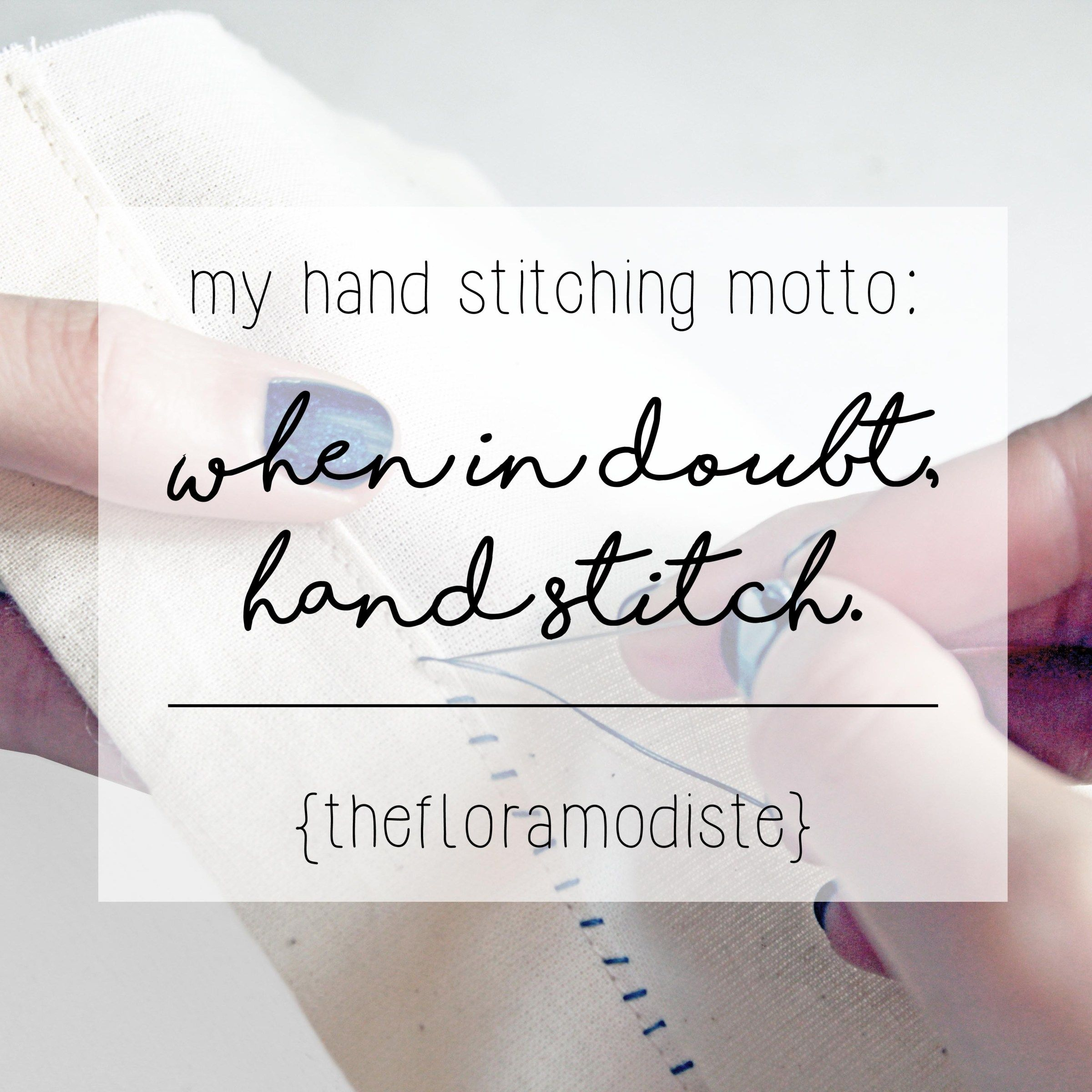 How To Sew 3 Different Types Of Hand Stitches Part Two