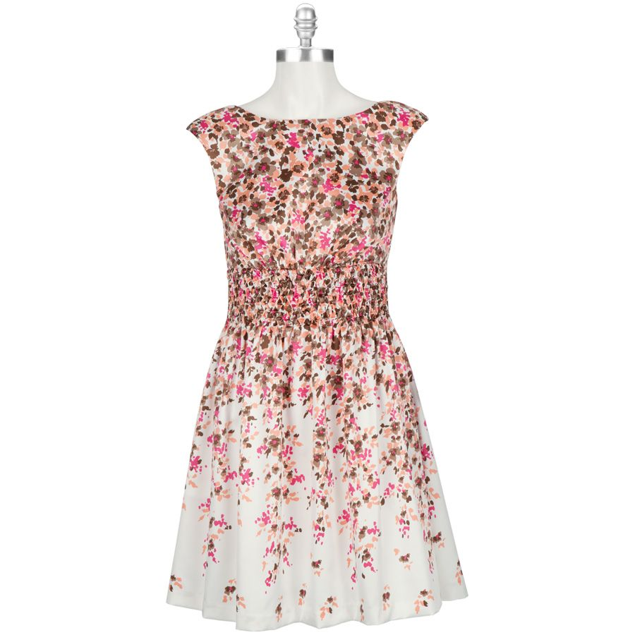 Jessica Howard Ditsy Floral Dress with Smocked Waist | My Style ...