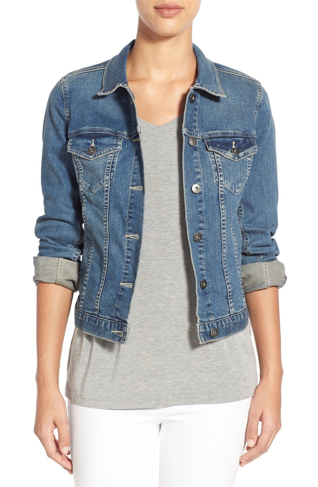 Jean Jacket | Vince camuto, Denim jackets and Clothes