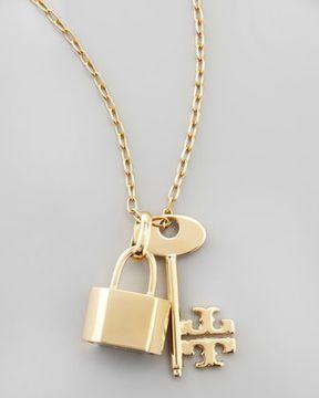 0aa73343ce Designer Jewelry · http://www.shopstyle.com: Tory Burch Riley Lock &