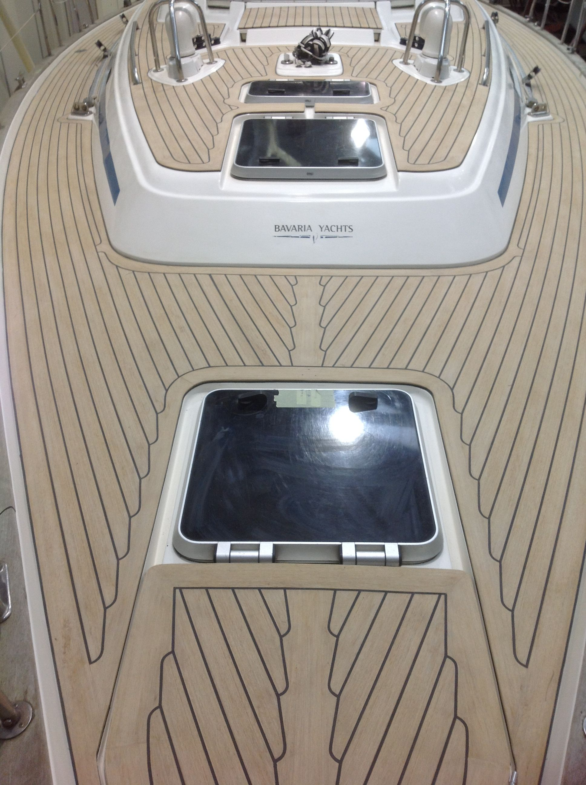 Plastic Wood Deck Boat Flooring ,pontoon Boat Flooring