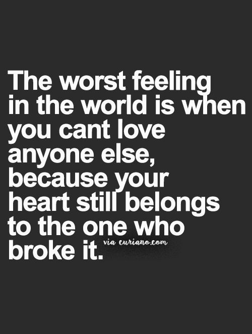 Broken Love Quotes Interesting 48 Sad Hurt Quotes For The Broken Hearts  Pinterest  Relationships