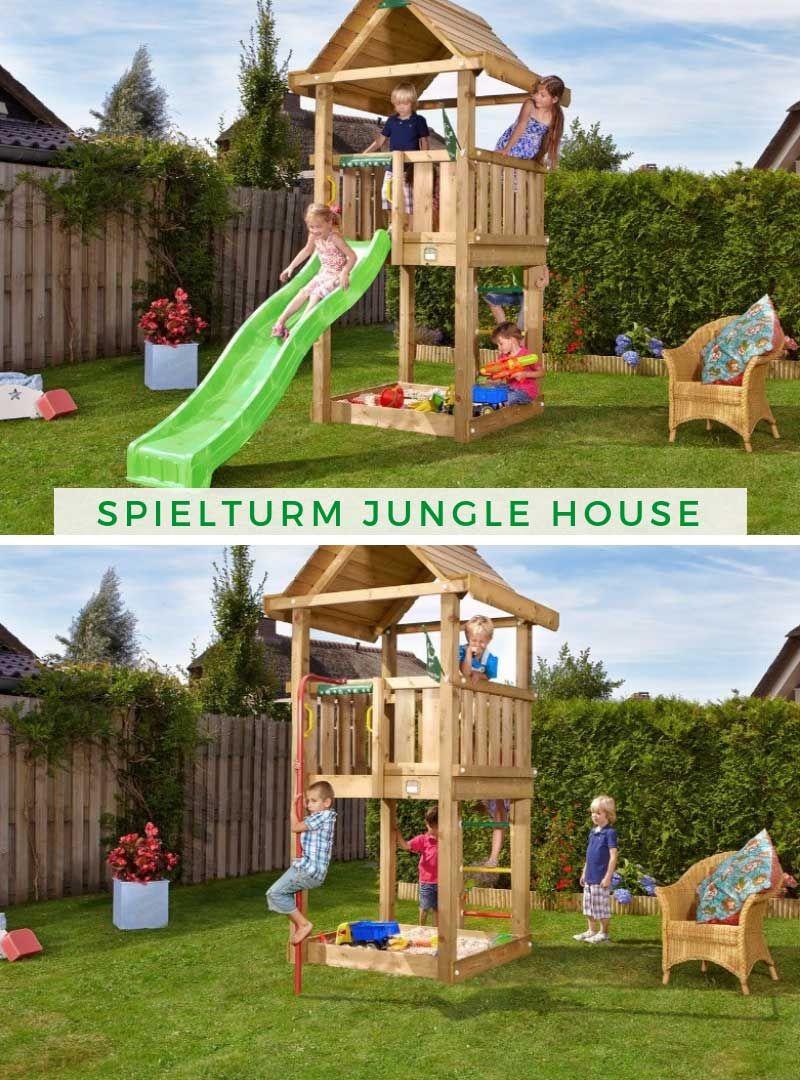 Spielturm Jungle House Dschungelhaus Spielturm Turm