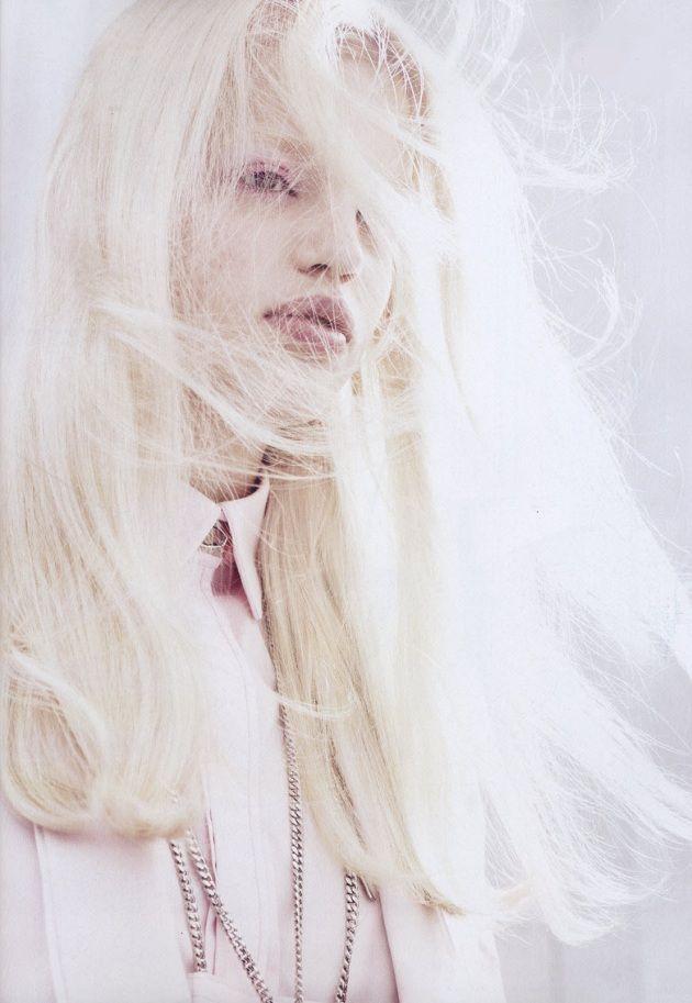 Full-on blonde