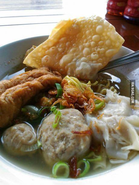 Bakso Malang 9gag Food Asian Noodle Dishes Food