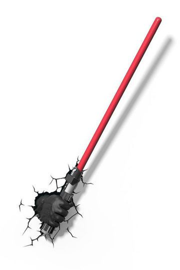 Star Wars 3D LED Leuchte Darth Vader Laserschwert
