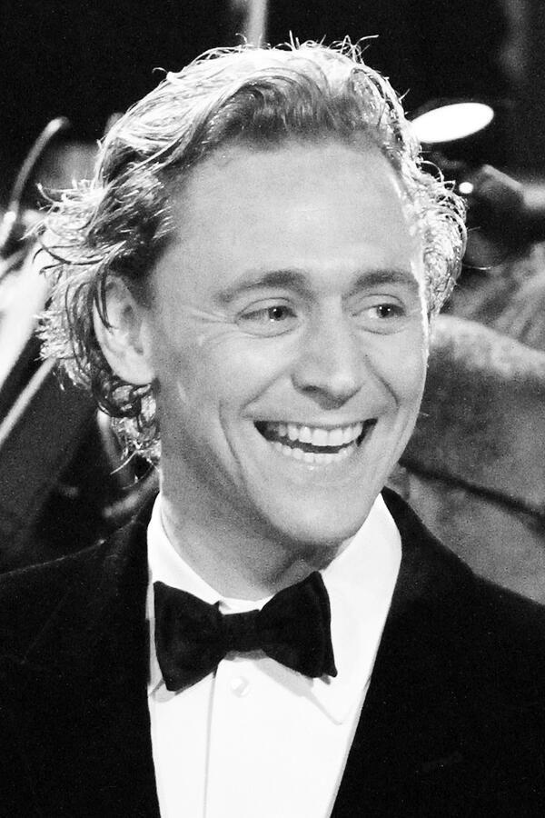 Tom Hiddleston. Via Twitter