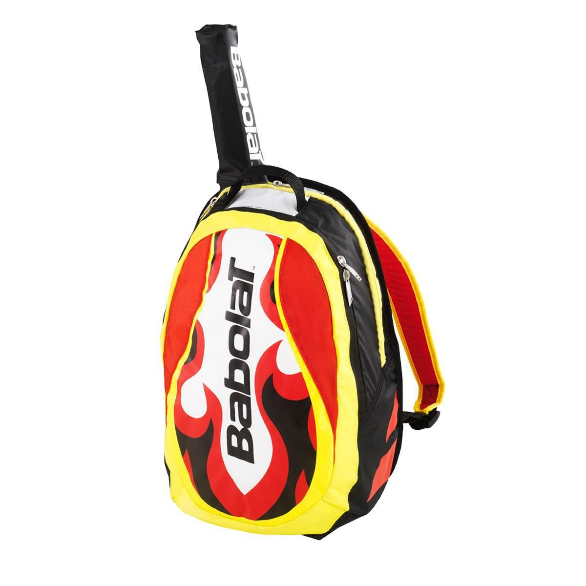 Babolat Boys Club Line Backpack Yellow Red Tennisnuts