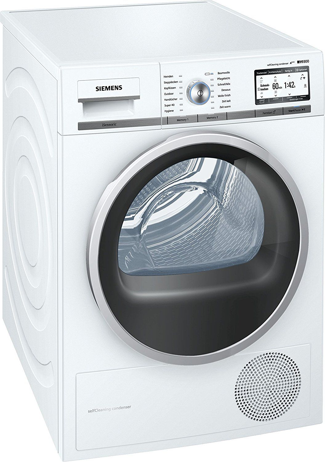 Siemens Wt7yh7 W0 Iq800 Home Connect Selfcleaning