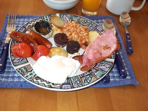 Ír reggeli (irish breakfast)