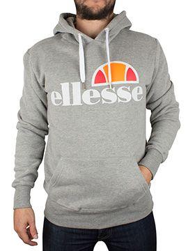 53f5b7f1 Ellesse Ath Grey Castello Logo Hoodie | Ellesse Clothing in 2019 ...