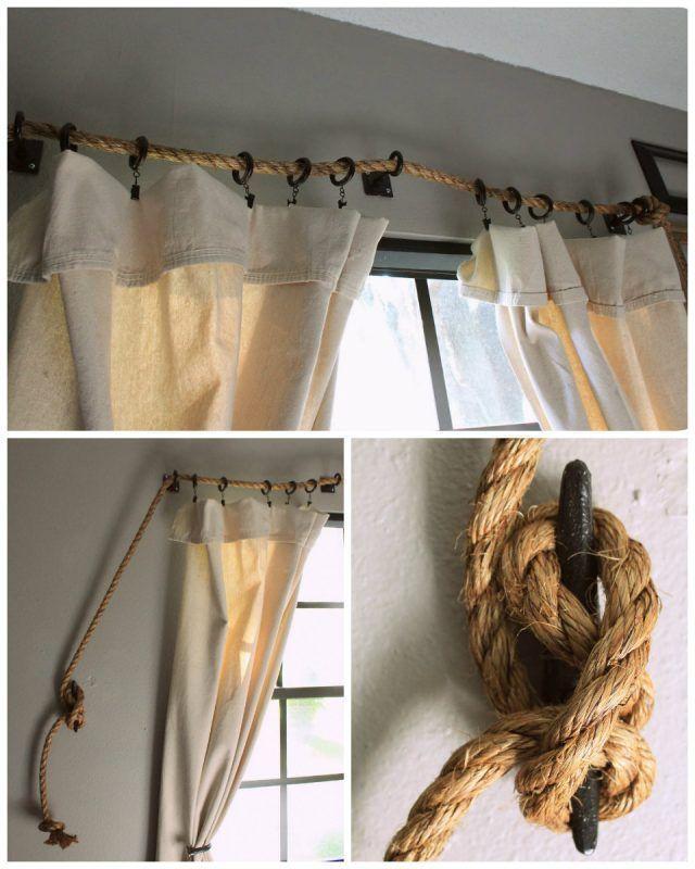 Barras de cortinas originales para tu casa Cortinas originales