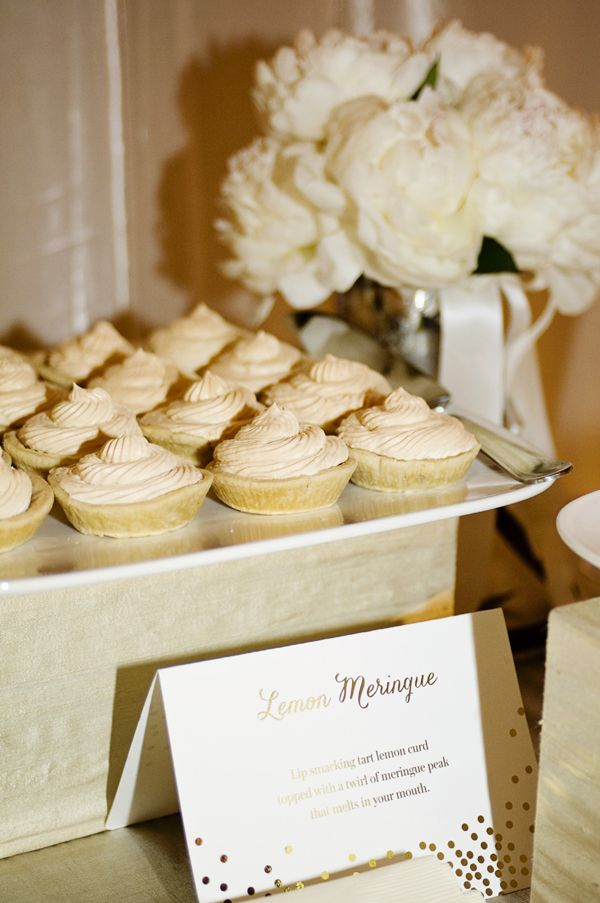 wedding dessert inspiration | Kate Siegel Fine Events