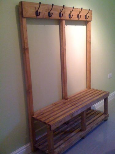 Cloakroom Bench Coat Rack Locker Room Bench Various Options Available Dining Room Contemporary