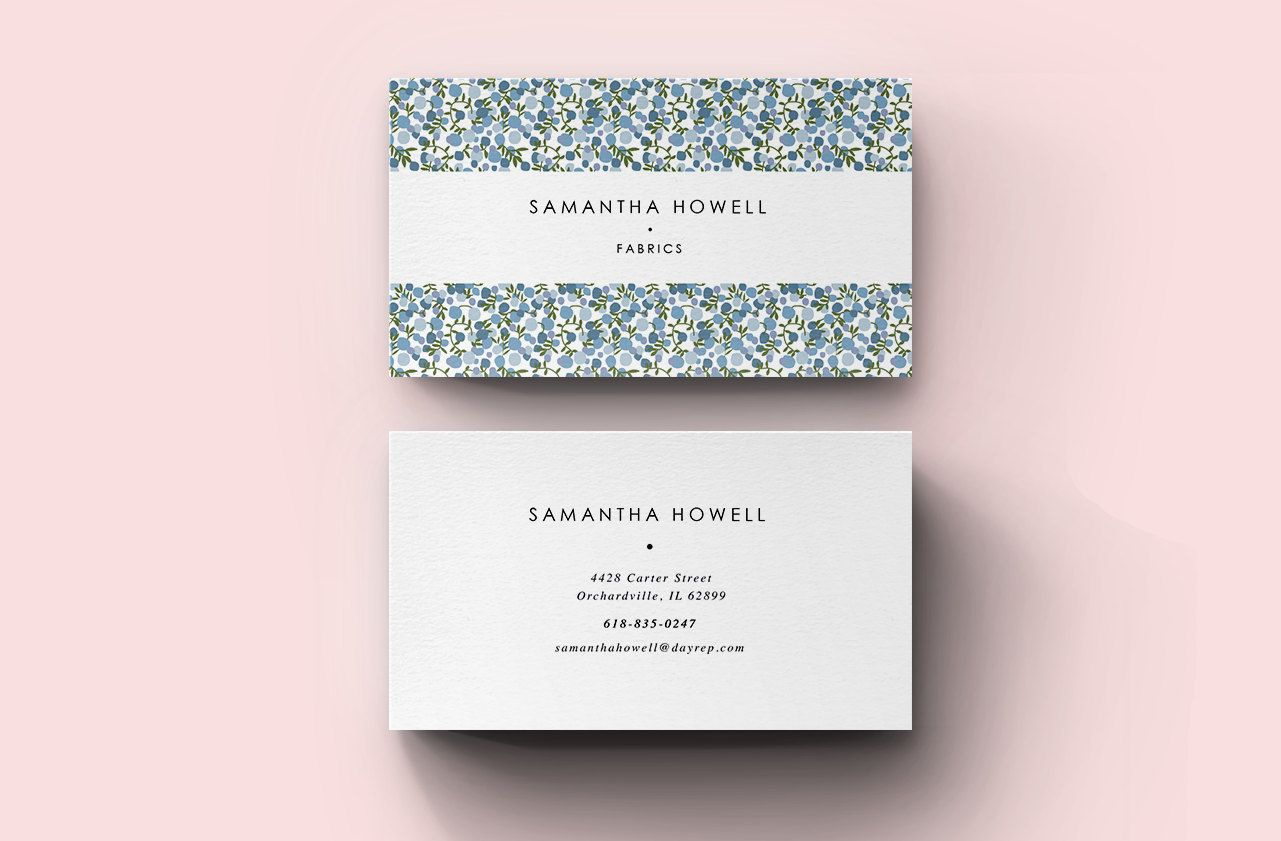 Cute Business Card Template by Blank Studio on Creative Market ...