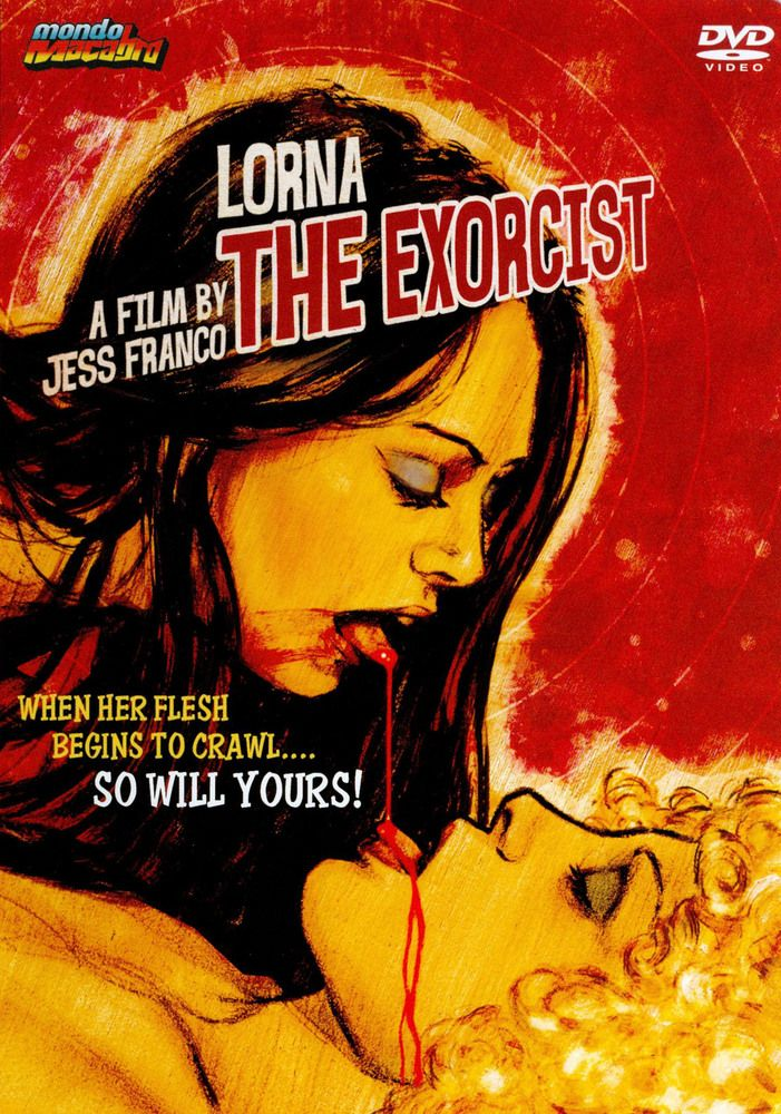 Lorna The Exorcist Dvd 1974 The Exorcist Horror Movies Horror Posters