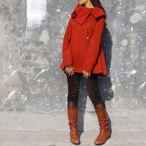 Lovely red coat