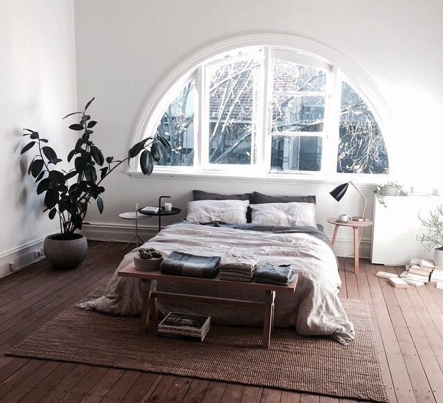 Open Bedroom With Natural Light