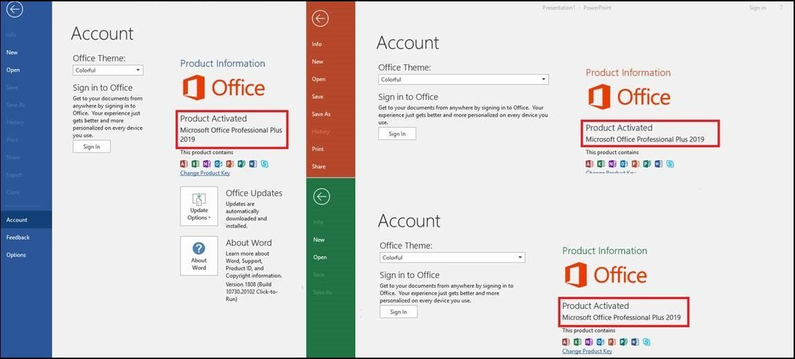 How to Find and Activate Microsoft Office 2016 / 2019