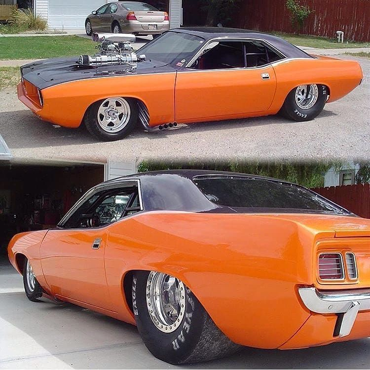Blown '72 Cuda. _ #americanmuscle #classiccar #musclecar