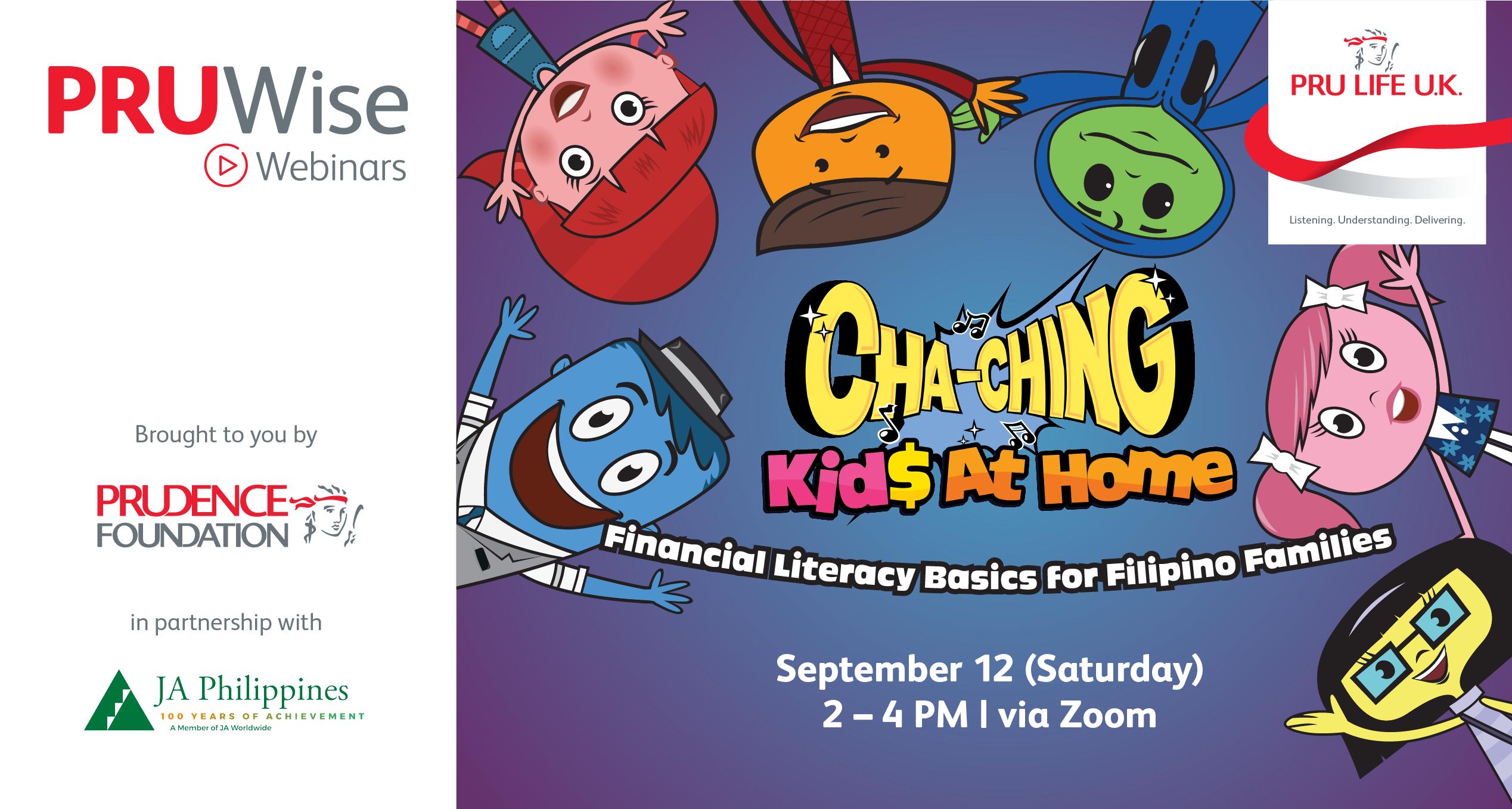 Pru Life Uk Promotes Financial Literacy Among Filipino Families Financial Literacy Literacy Junior Achievement