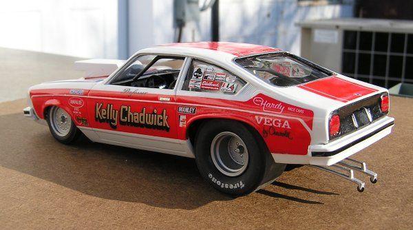 Old Pro Stock Kelly Chadwick Pro Stock Vega Done Plastic