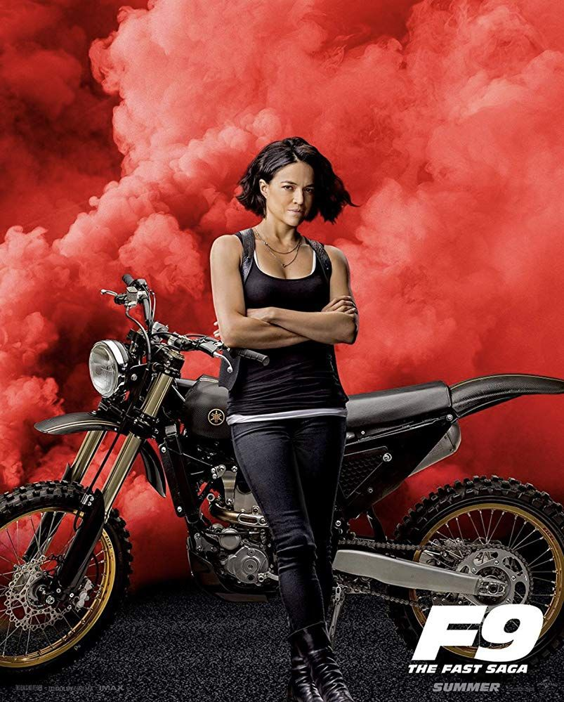 Michelle Rodriguez In Fast Furious 9 2020 Movie Fast And Furious Fast And Furious Michelle Rodriguez